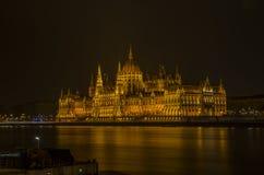 Le Parlement Budapest Photographie stock libre de droits
