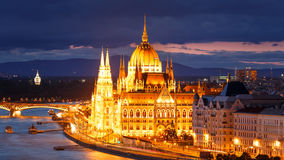 Le Parlement, Budapest Image stock