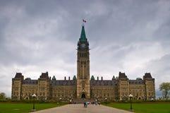 Le parlement canadien Photos libres de droits
