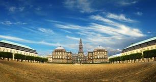 Le parlement danois à Copenhague photographie stock