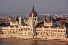 Le parlement de Budapest Images libres de droits