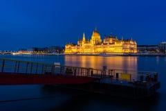 Le Parlement de Budapest Image libre de droits