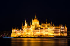 Le Parlement de Budapest Photo stock