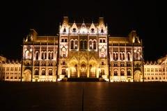 Le Parlement de Budapest, Hongrie image libre de droits