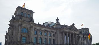 Le parlement de Bundestag à Berlin photos stock