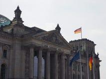 Le parlement de Bundestag à Berlin images libres de droits