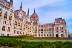 le parlement de Hongrois de Budapest photo stock