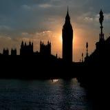 Le Parlement de l'Angleterre Images libres de droits