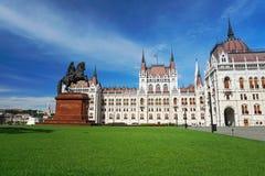 Le Parlement de la Hongrie Photographie stock
