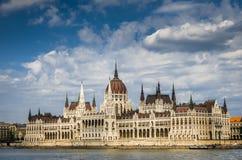 Le Parlement de la Hongrie Image stock