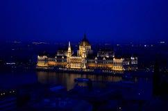 Le Parlement de la Hongrie Photographie stock libre de droits