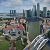 Le Parlement de Singapour renferment Photographie stock libre de droits