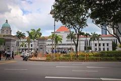 Le Parlement de Singapour renferment Photographie stock