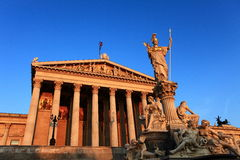 Le Parlement de Vienne Photographie stock