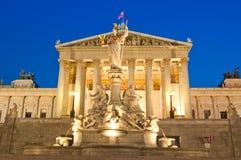 Le Parlement de Vienne photographie stock libre de droits