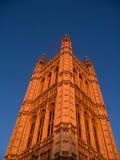 Le parlement de Westminster dominent Photos libres de droits