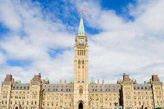 Le Parlement du Canada Photo stock