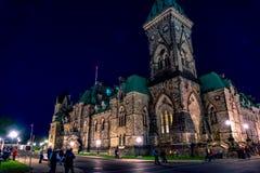 Le Parlement du Canada image libre de droits