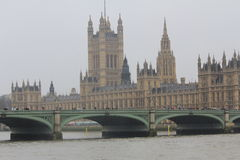 Le Parlement du Royaume-Uni dans la ville de Londres Image stock