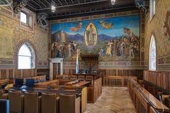 Le parlement du Saint-Marin Image stock