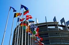 Le Parlement européen photographie stock libre de droits