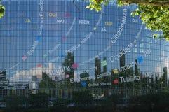 Le Parlement européen Image stock