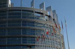 Le Parlement européen Photos stock