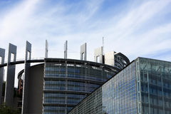 Le Parlement européen, Strasbourg Image stock