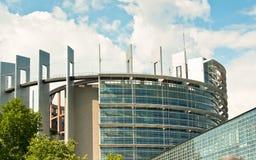 Le Parlement européen - Strasbourg photo stock