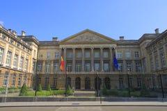 Le Parlement fédéral belge Photos stock