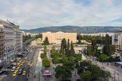 Le parlement grec Photos stock