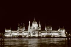 Le parlement hongrois image libre de droits