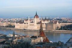 le parlement hongrois Images libres de droits
