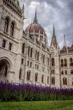 Le Parlement hongrois après rénovation Photos stock