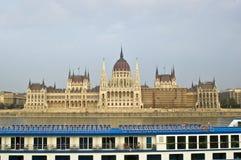 Le Parlement hongrois de Budapest   Photos libres de droits