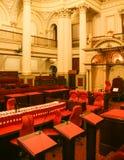 Le Parlement logent à Melbourne, Australie Images libres de droits