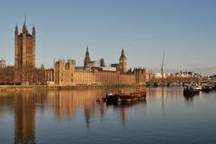 Le Parlement Londres de Chambre Photographie stock libre de droits