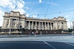 Le Parlement renferment à Melbourne images libres de droits