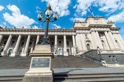 Le Parlement renferment à Melbourne photo libre de droits