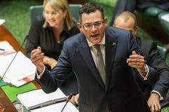 Le Parlement victorien d'état - heure des questions le 9 février 2016 Photo stock
