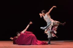 Le parole- melliflue del ` s dell'amante ballano ` di Cangyangjiacuo di dramma `` Fotografia Stock