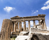 Le parthenon à Athènes Photos stock