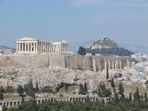 Le parthenon, Athènes Photo libre de droits