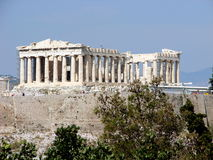 Le parthenon, Athènes Photographie stock libre de droits