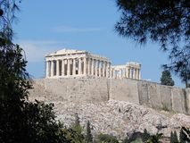 Le parthenon, Athènes Photos stock