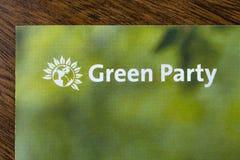 Le Parti Vert image stock