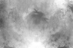 Le particelle di carbone fotografie stock