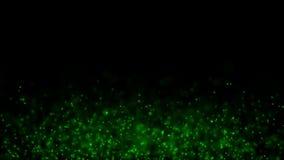 Le particelle sferiche verdi pilotano #2 illustrazione di stock