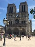 Le Parvis De Notre Damae zdjęcie stock