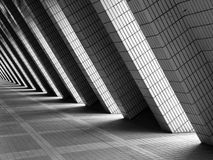 Le passage couvert de brique Photographie stock